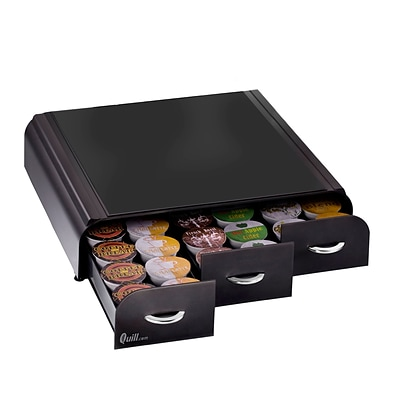 Quill Brand® Coffee Pod Storage Drawer; For 36 Kcups, Black