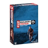 Clif Builders Protein Bar Cookies & Creme 2.4 oz, 12 Count