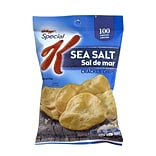 Kelloggs Special K Cracker Chips Sea Salt, 0.8 oz, 36 Count