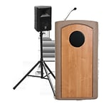 Accent Lecterns Dan James Original Classic Wireless Presenter Full Podium