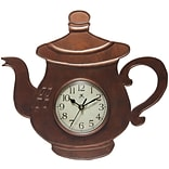 Infinity Instruments 13.75 Wall Clock, Brew Time (15195BZ-4055)