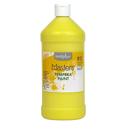 Little Masters® Tempera Paint, 32 oz., Yellow