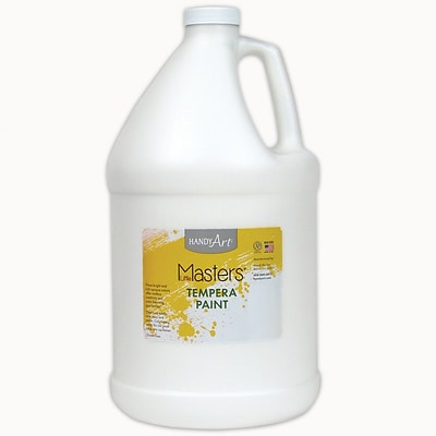 Little Masters® Tempera Paint, 1 Gallon, White