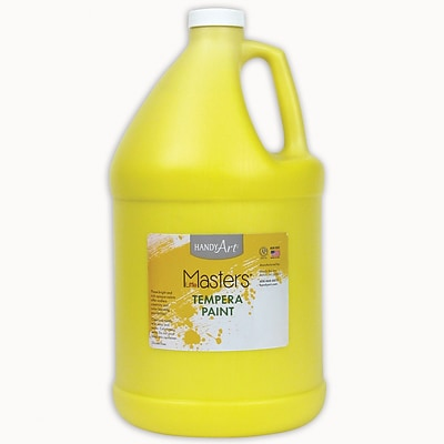 Little Masters® Tempera Paint, 1 Gallon, Yellow