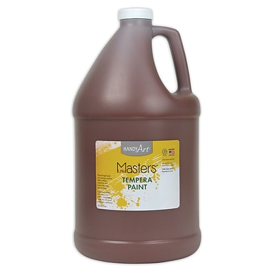 Little Masters® Tempera Paint, 1 Gallon, Brown