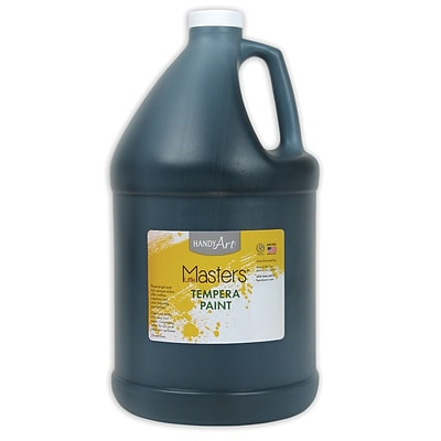 Little Masters® Tempera Paint, 1 Gallon, Black
