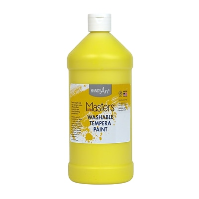 Little Masters® Washable Paint, 32 oz., Yellow