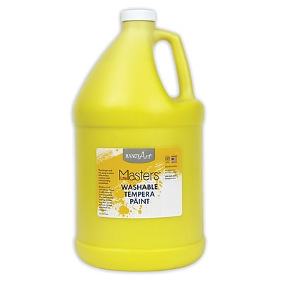 Little Masters® Washable Paint, 1 Gallon, Yellow