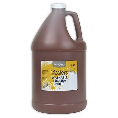 Little Masters® Washable Paint, 1 Gallon, Brown