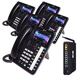XBlue® X5045 Four-Phone System Bundle