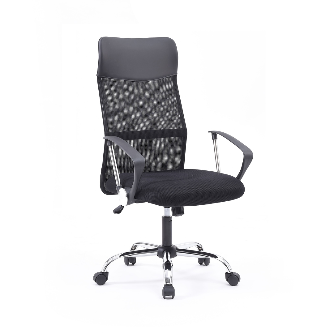 Superb Hodedah Mesh Executive Office Chair Adjustable Arms Black Hi 3003A Home Interior And Landscaping Transignezvosmurscom