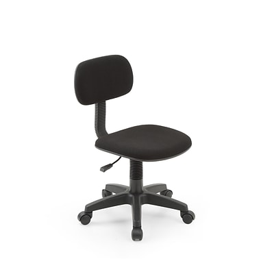 Hodedah HI-5004 Black Plastic Task Chair