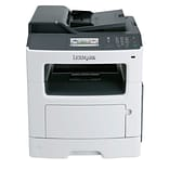 Lexmark MX417de Mono Laser All-in-One Printer, Black