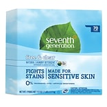 Seventh Generation™ Natural Powder Laundry Detergent, Free & Clear, Unscented, 70 Loads, 112 oz. Box