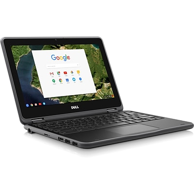 Dell™ Chromebook T8TJG 3189 11.6 TouchDisplay LCD 2in1 Chromebook, Intel Celeron N3060 1.6GHz,4GB LPDDR3, 64GB SSD, ChromeOS