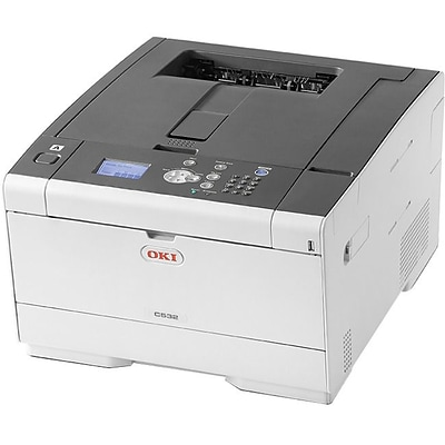 OKI C 532dn 62447101 USB & Network Ready Color Laser Printer