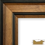 Charlton Home 2 Wide Wood Grain Picture Frame; 11 x 17