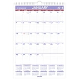 2018 AT-A-GLANCE® Monthly Wall Calendar, January 2018-December 2018, 12x17, Wirebound (PM2-28-18)