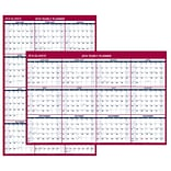 2018 AT-A-GLANCE® Wall Calendar, Vertical / Horizontal Erasable, Reversible, Jan 2018 - Dec 2018, 48