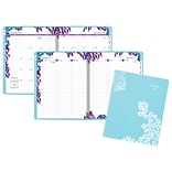 2018 AT-A-GLANCE® Wild Washes Weekly/Monthly Appointment Book/Planner, 8-1/2x11, Light Blue (523-9