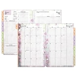 2018 Franklin Covey® Blooms Two Page Per Day Planner Refill; Loose-Leaf, 5-1/2 x 8-1/2 (35444-18)