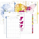2018 Day-Timer Two Page Per Week Planner Refill; Loose-leaf, Desk Size, 5-1/2 x 8-1/2, Kathy Davis
