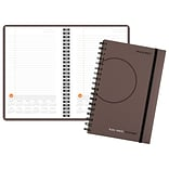 2018 AT-A-GLANCE® Plan.Write.Remember.® Planning Notebook with Reference Calendars, Undated, 5 5/8x