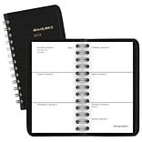 2018 AT-A-GLANCE® Unruled Weekly Pocket Planner, 2 1/2x4 1/2, Black (70-035-05-18)