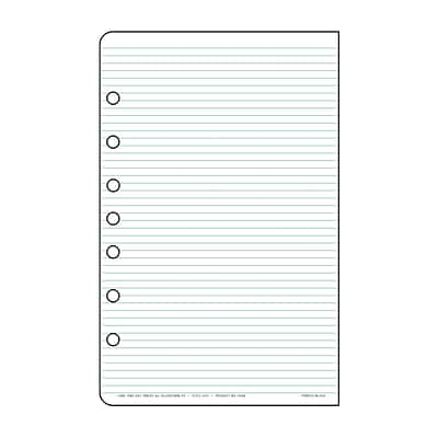 Day-Timer® Multi-Purpose Lined Page Refills, Desk-Size, 8-1/2Hx5-1/2W (87228)