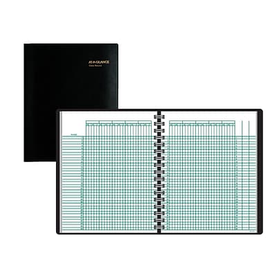 AT-A-GLANCE® Academic Class Record Book, Undated, 8-1/4 x 10-7/8, Black (80-150-05)