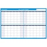 2018 AT-A-GLANCE® 90/120-Day Undated Horizontal Erasable Wall Calendar, Reversible, 2017, 36 x 24