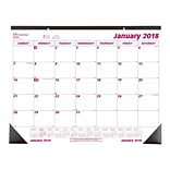 2018 Brownline® 22 x 17 Monthly Desk Pad Calendar (C1731)