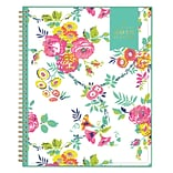 2018 Day Designer for Blue Sky 8.5 x 11 CYO (Create Your Own) Cover Weekly/Monthly Planner, Peyton