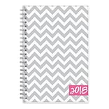 2018 Dabney Lee for Blue Sky 5 x 8 Weekly/Monthly Planner, Gray Ollie (102133)