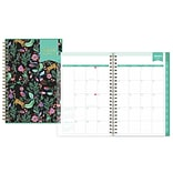 2018 Day Designer for Blue Sky 5 x 8 CYO (Create Your Own) Cover Weekly/Monthly Planner, Jungle Ti