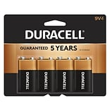 Duracell® 9V Alkaline Battery 4-Pack