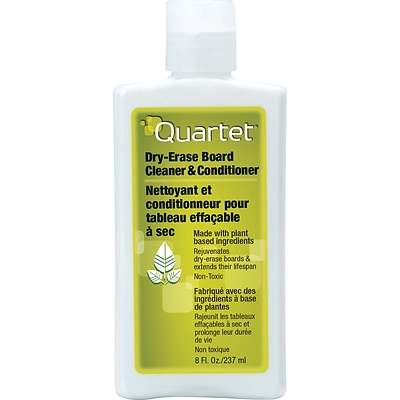 Quartet® 551 Whiteboard Cleaner/Conditioner, Non-Toxic, 8 oz. Bottle