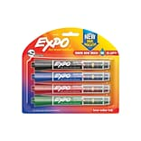EXPO Dry Erase Markers with Ink Indicator, ...