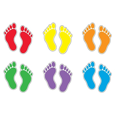 Trend® Classic Accents® Variety Packs, Footprints