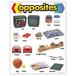 Opposites Learning Chart Learning Chart