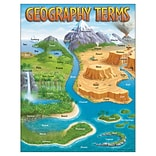 Trend® Geography Terms Learning Charts