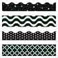 Trend Enterprises® Toddler-12th Grd Terrific Trimmer & Bolder Border Variety PK; Black&White,143/PK
