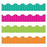 Trend Enterprises 156 Polka Dots Terrific Trimmers Variety Pack, 48 Pack (T-92932)