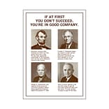 If at first you dont succeed… Poster