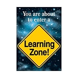 You Are About to Enter Learning Zone Poster
