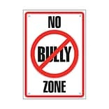 Trend Classroom Poster; No Bully Zone