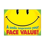 A Smile Improves Your Face Value Poster