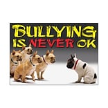 Trend Classroom Poster; Bullying is never OK