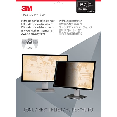 3M™ Privacy Filter for 20 Widescreen Monitor (PF200W9B)
