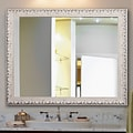 One Allium Way French Victorian Wall Mirror; 38 H x 32 W